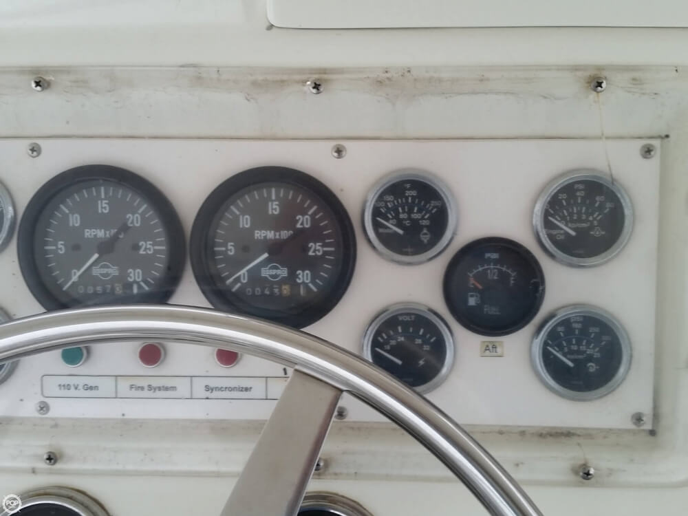 1986 Post Marine boat for sale, model of the boat is 50 SportFish & Image # 22 of 40