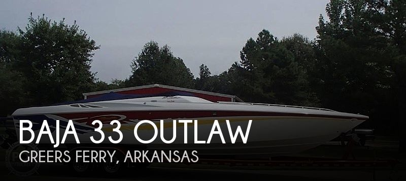 2003 Baja boat for sale, model of the boat is 33 Outlaw & Image # 1 of 6