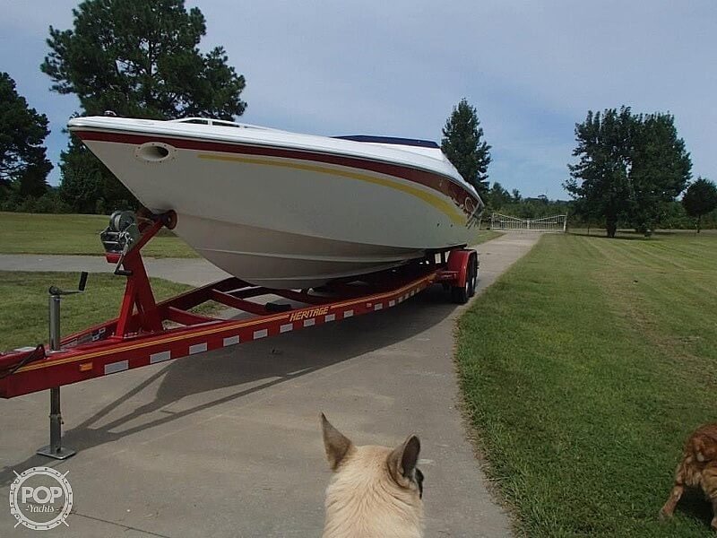 2003 Baja boat for sale, model of the boat is 33 Outlaw & Image # 2 of 6