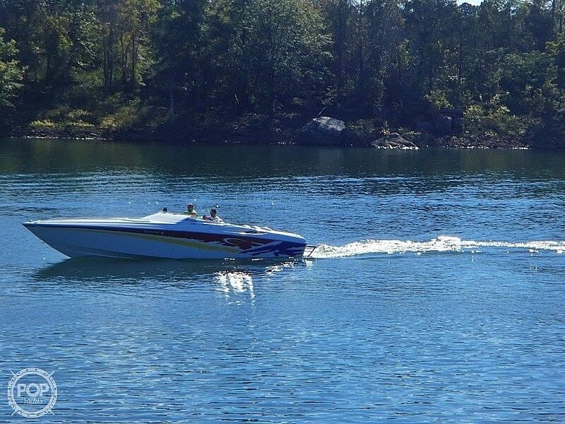 2003 Baja boat for sale, model of the boat is 33 Outlaw & Image # 4 of 6