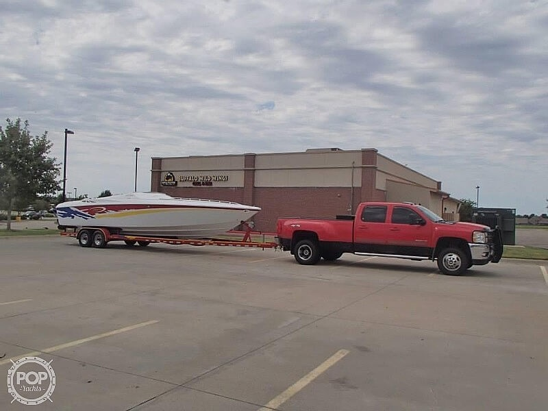 2003 Baja boat for sale, model of the boat is 33 Outlaw & Image # 5 of 6