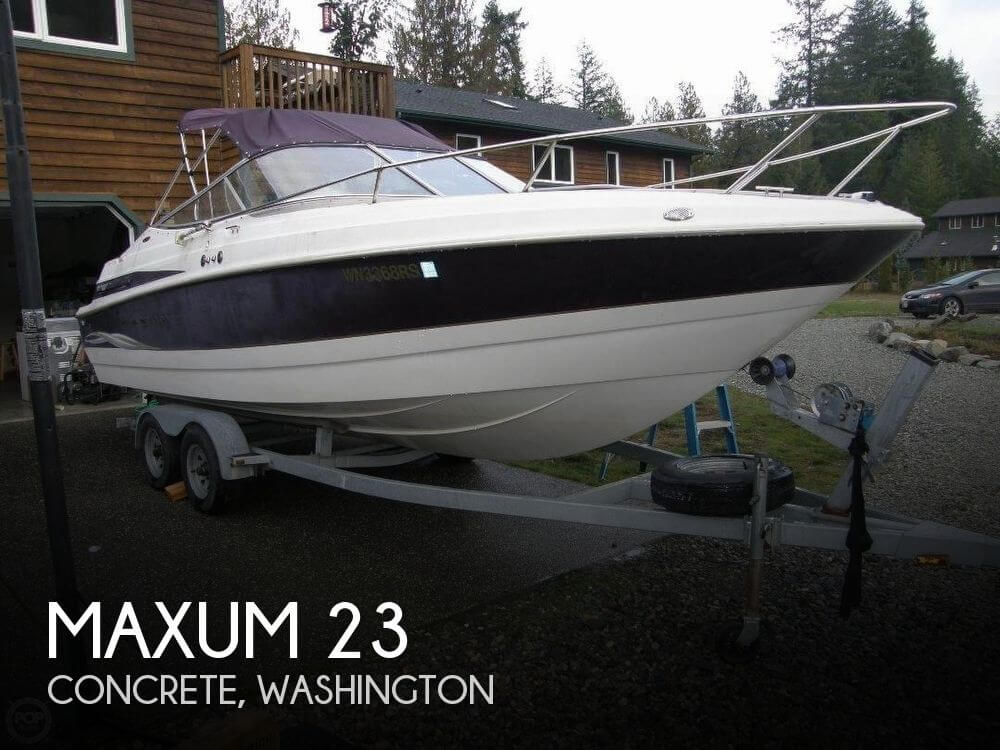 Used Maxum Boats For Sale in Washington by owner | 2000 Maxum 23