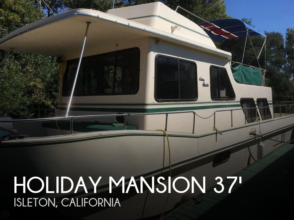 Used Houseboats For Sale in California by owner | 1988 Holiday Mansion 39
