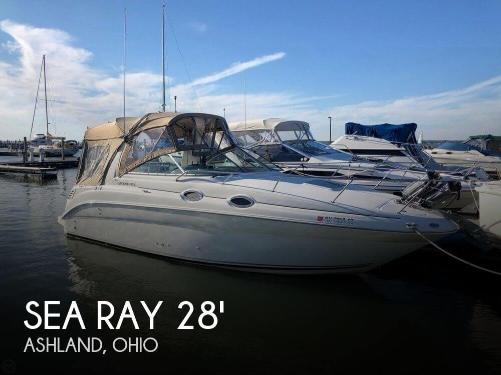 Used Boats For Sale in Canton, Ohio by owner | 2004 Sea Ray 260 Sundancer
