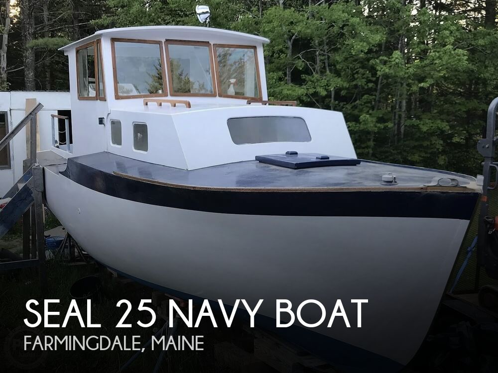 1964 Seal boat for sale, model of the boat is 25 Navy Boat & Image # 1 of 40