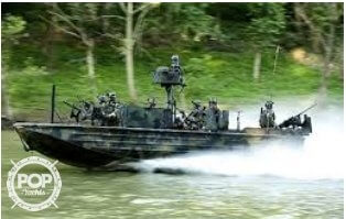2007 United States Marine boat for sale, model of the boat is Special Operations Craft Riverine & Image # 12 of 40