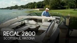 Used Boats For Sale in Phoenix, Arizona by owner | 2016 Regal 2800