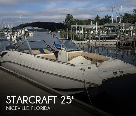 Used Deck Boats For Sale by owner | 2015 Starcraft 24