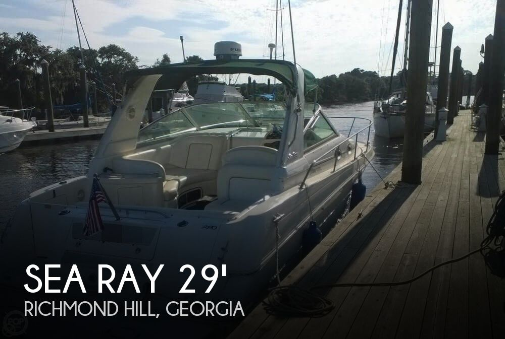 Used Sea Ray Boats For Sale in Georgia by owner | 2001 Sea Ray 29