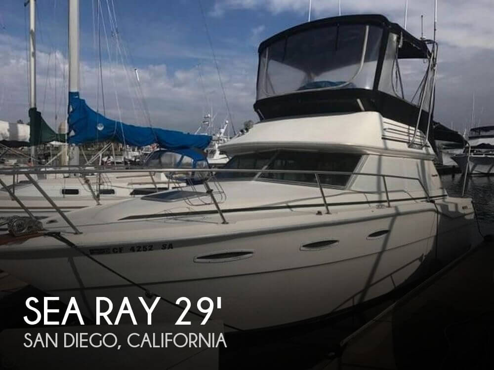 Used Sea Ray Boats For Sale in San Diego, California by owner | 1984 Sea Ray 29