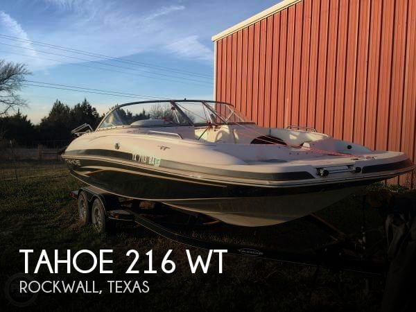 Used Tahoe Boats For Sale in Texas by owner   2009 Tahoe 21