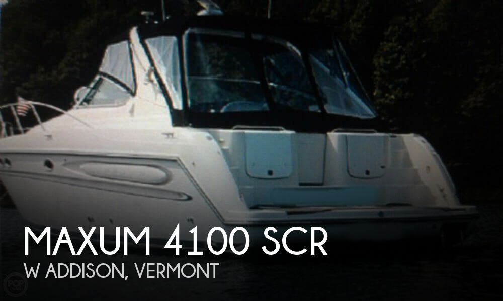 Used Boats For Sale in Burlington, Vermont by owner | 1997 Maxum 41