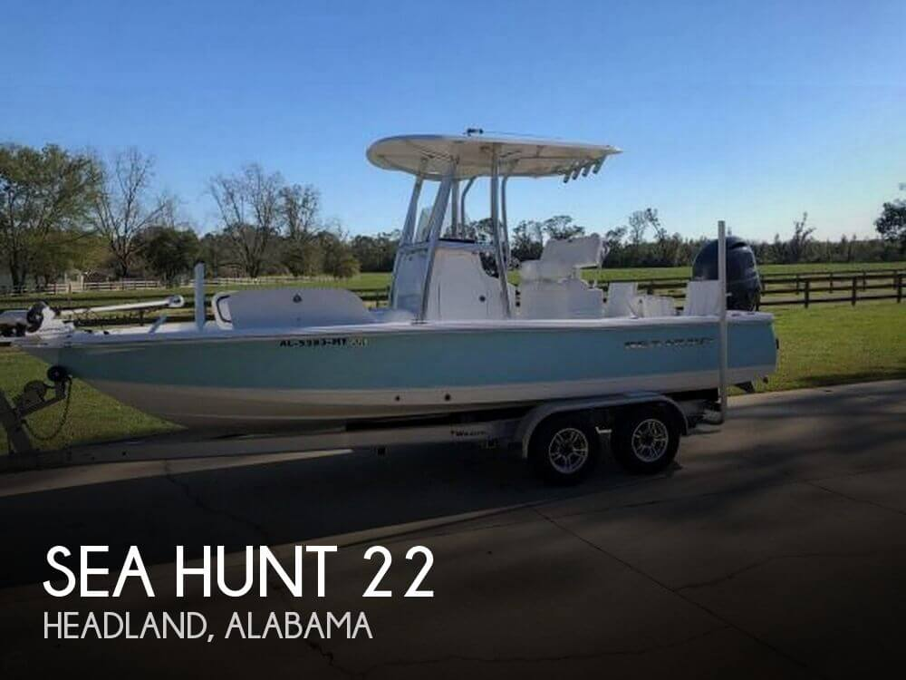 Used Sea Hunt Boats For Sale by owner | 2016 Sea Hunt 22