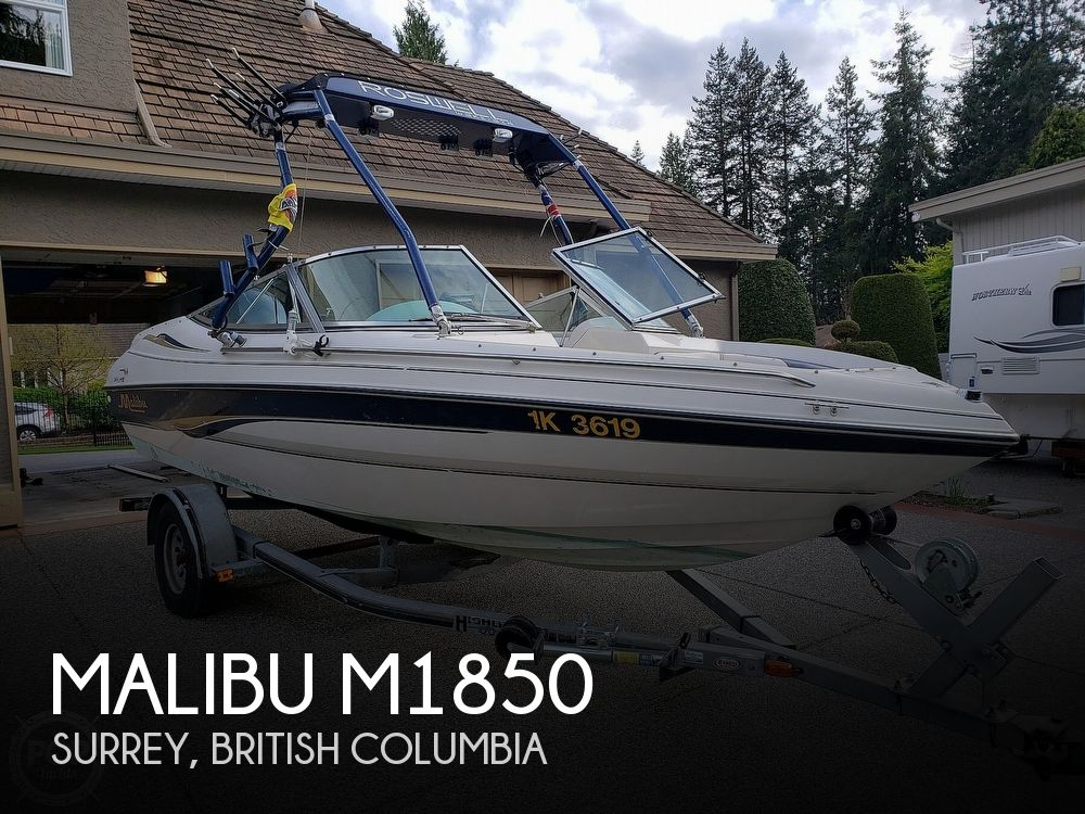 2000 Malibu boat for sale, model of the boat is M1850 & Image # 1 of 40