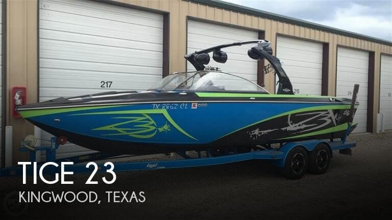 Used Ski Boats For Sale in Texas by owner | 2015 Tige 23