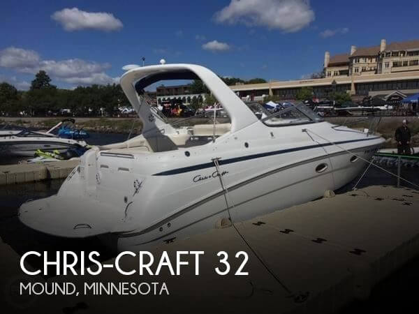 Used Boats For Sale in Minneapolis, Minnesota by owner | 2000 Chris-Craft 32