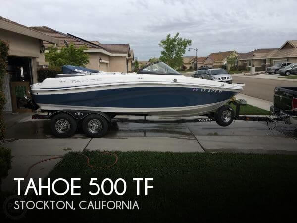 Used Boats For Sale in Merced, California by owner | 2017 Tahoe 19