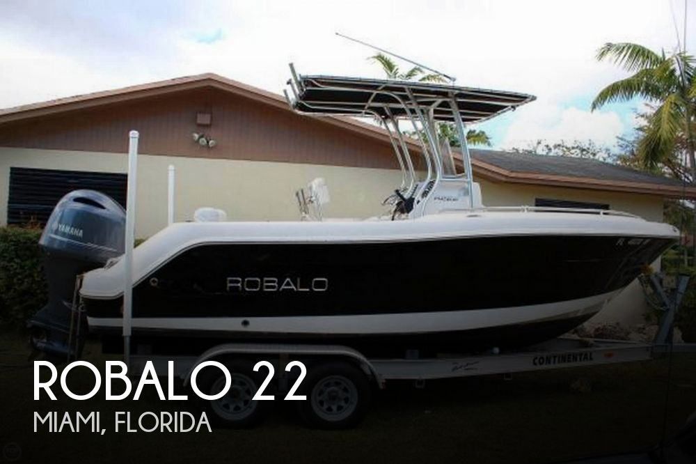 Used Robalo Boats For Sale by owner | 2017 Robalo 22