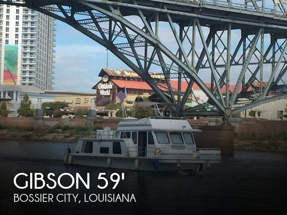 Used Houseboats For Sale in Louisiana by owner | 1995 Gibson 59