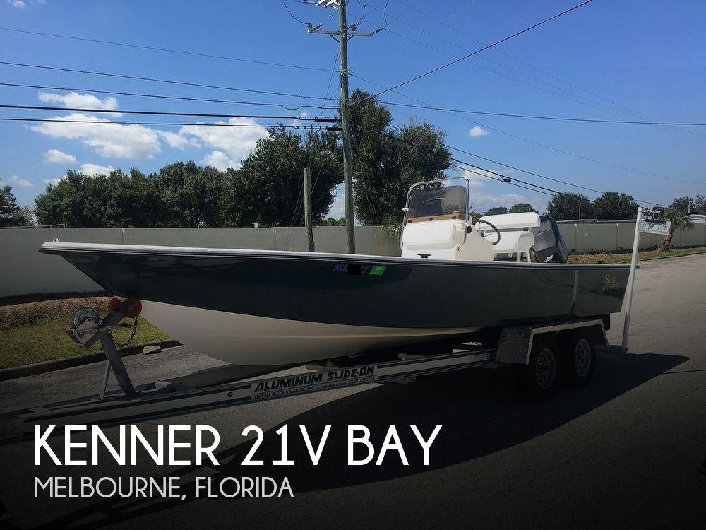 Used Kenner Boats For Sale by owner | 2001 Kenner 21V Bay