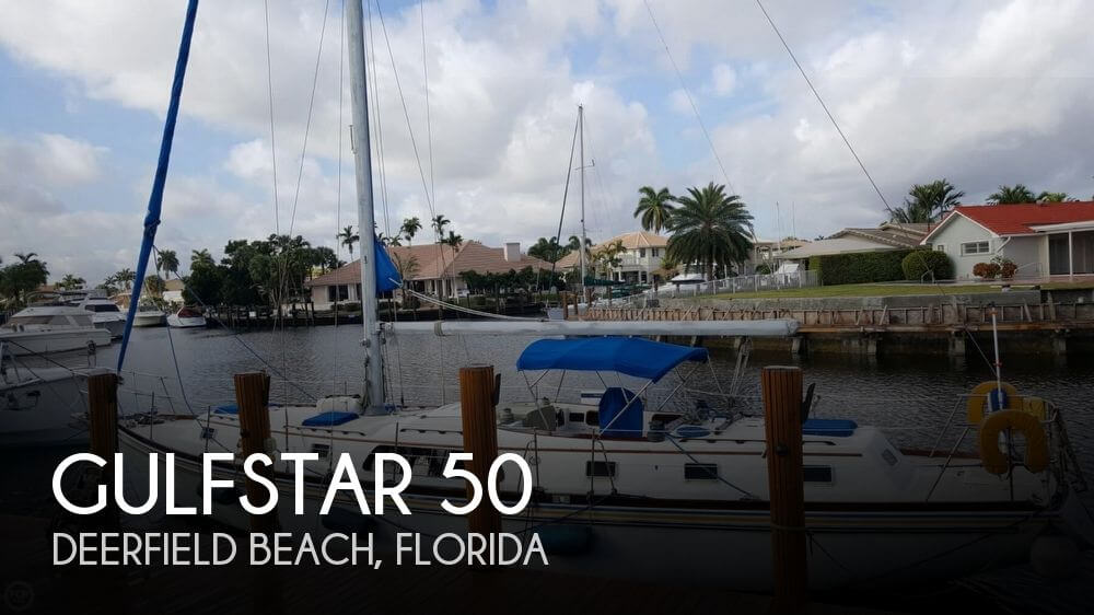 Used Gulfstar Boats For Sale by owner | 1977 Gulfstar 50