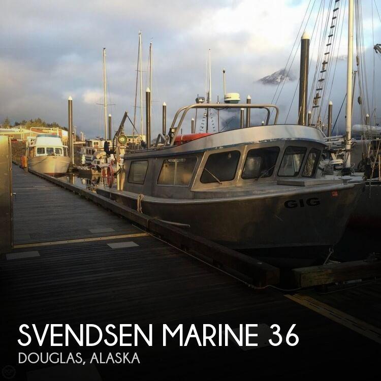 1994 Svendsen Marine 38 Jet Sport Cruiser