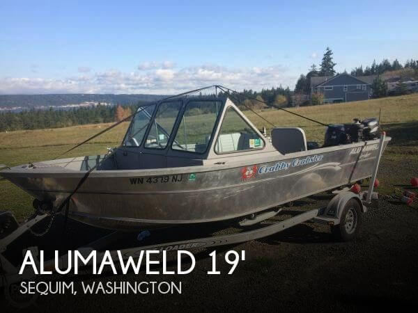 Used Fishing boats For Sale in Washington by owner | 2000 Alumaweld 19