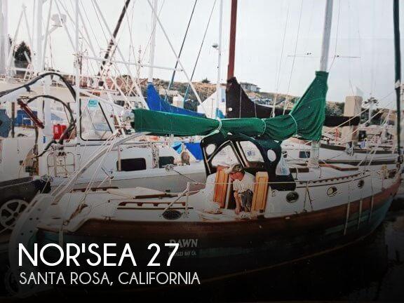 SOLD: Nor'Sea 27 boat in Santa Rosa, CA | 170933