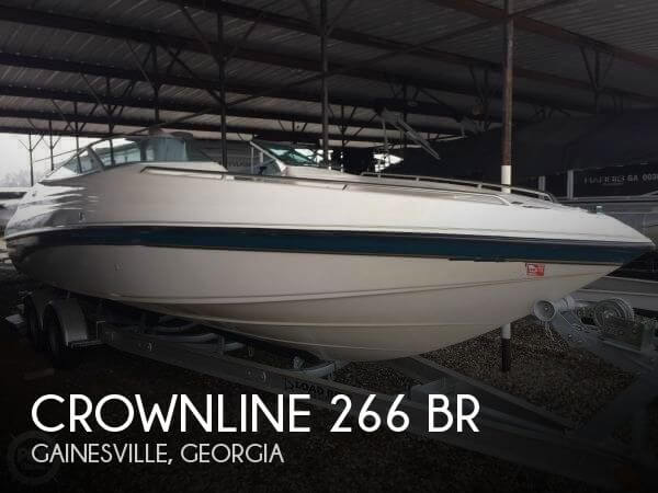 1995 Crownline 266 BR