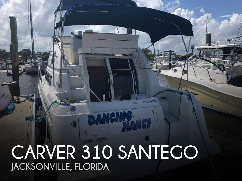 Used Carver 310 Santego Boats For Sale by owner | 1996 Carver 310 Santego