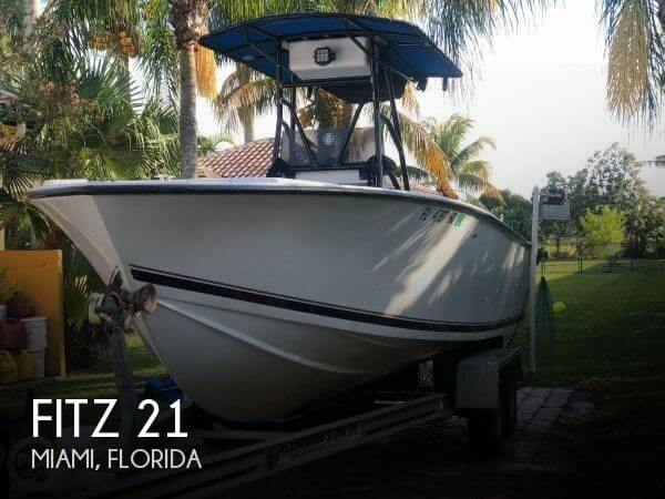 Used Fitz Boats For Sale by owner | 1990 Fitz 21