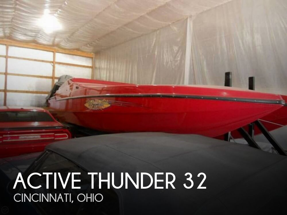 Used Boats For Sale in Dayton, Ohio by owner | 1994 Active Thunder 32