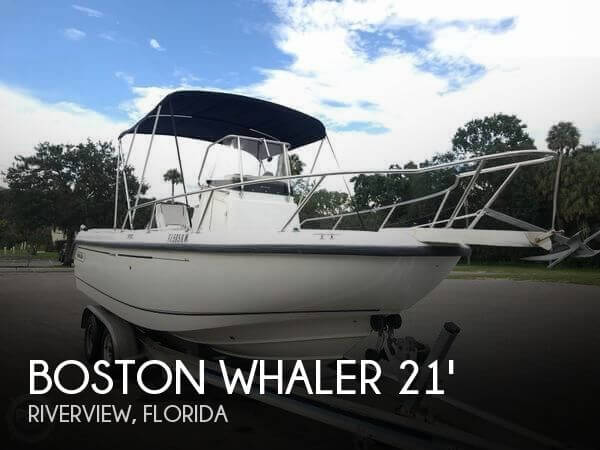 Used Boston Whaler 21 Boats For Sale by owner | 2000 Boston Whaler 21