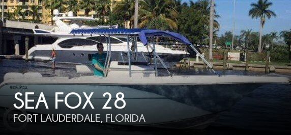 Used Sea Fox Boats For Sale by owner | 2004 Sea Fox 28
