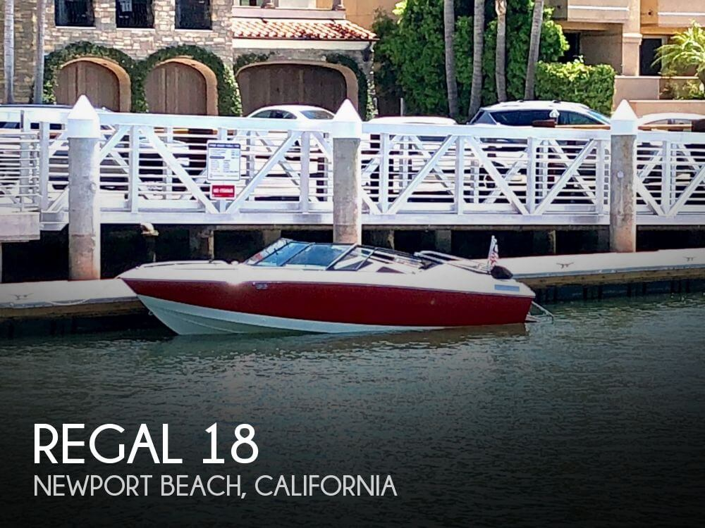 Used Regal Boats For Sale in California by owner   1990 Regal 18