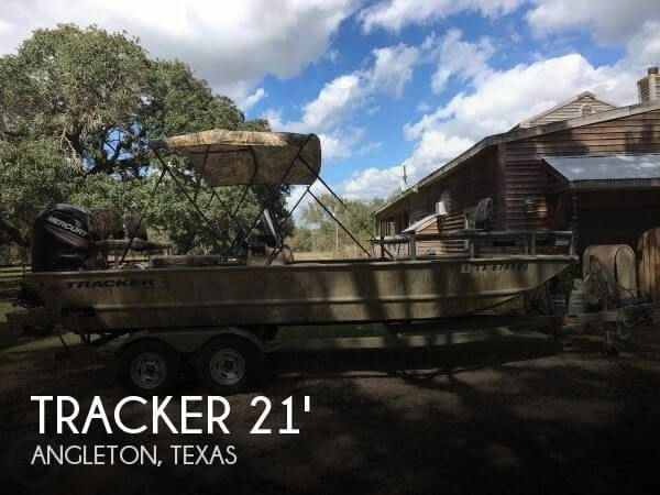 Used Tracker Boats For Sale in Texas by owner | 2016 Tracker 21