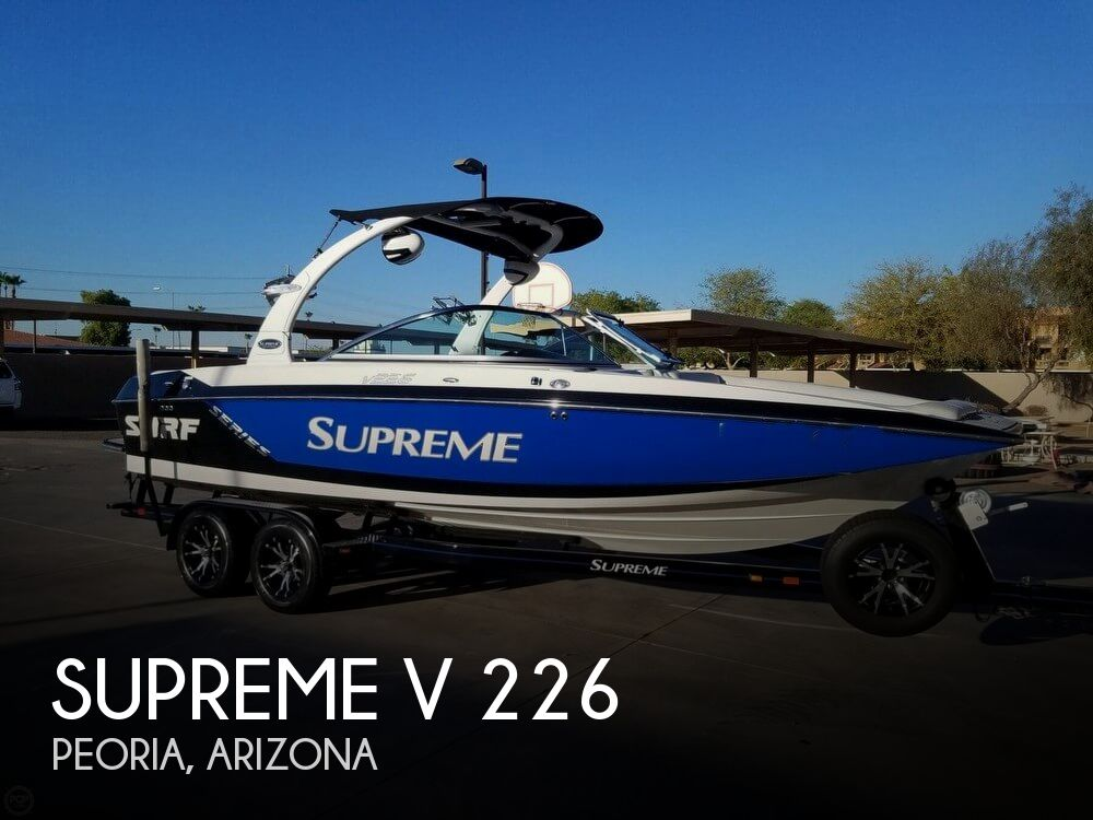 Used Boats For Sale in Arizona by owner | 2014 Supreme 22