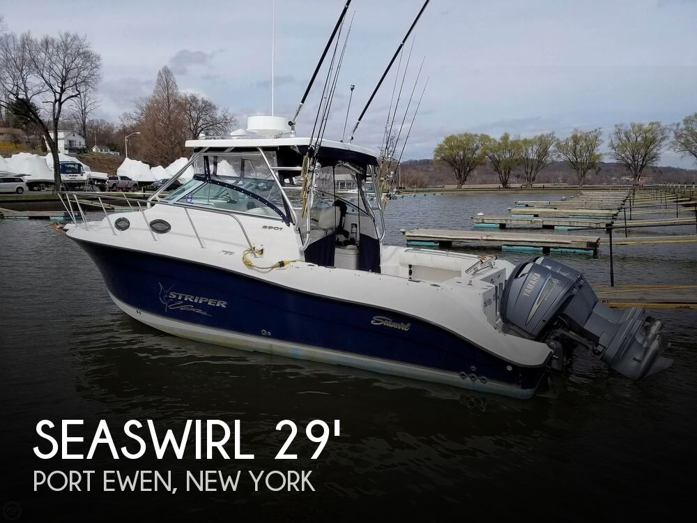 Used Boats For Sale in Albany, New York by owner | 2004 Seaswirl Striper 2901