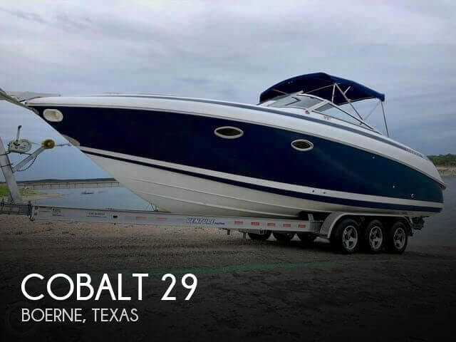 Used Boats For Sale in San Antonio, Texas by owner | 2001 Cobalt 29