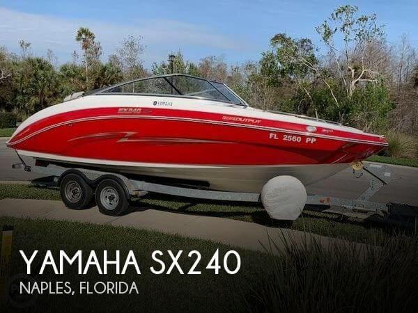 2013 Yamaha SX240