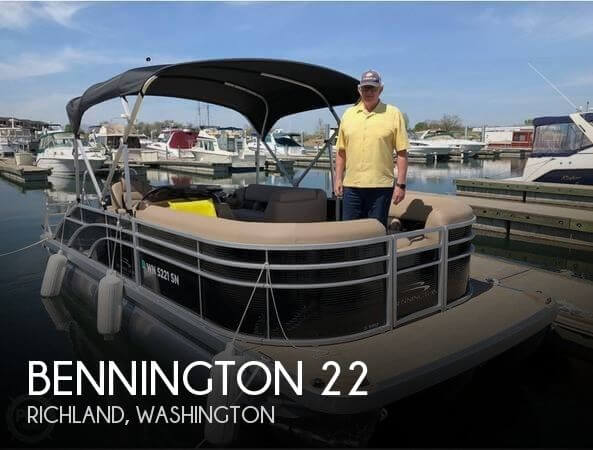 Used Pontoon Boats For Sale by owner | 2018 Bennington 22