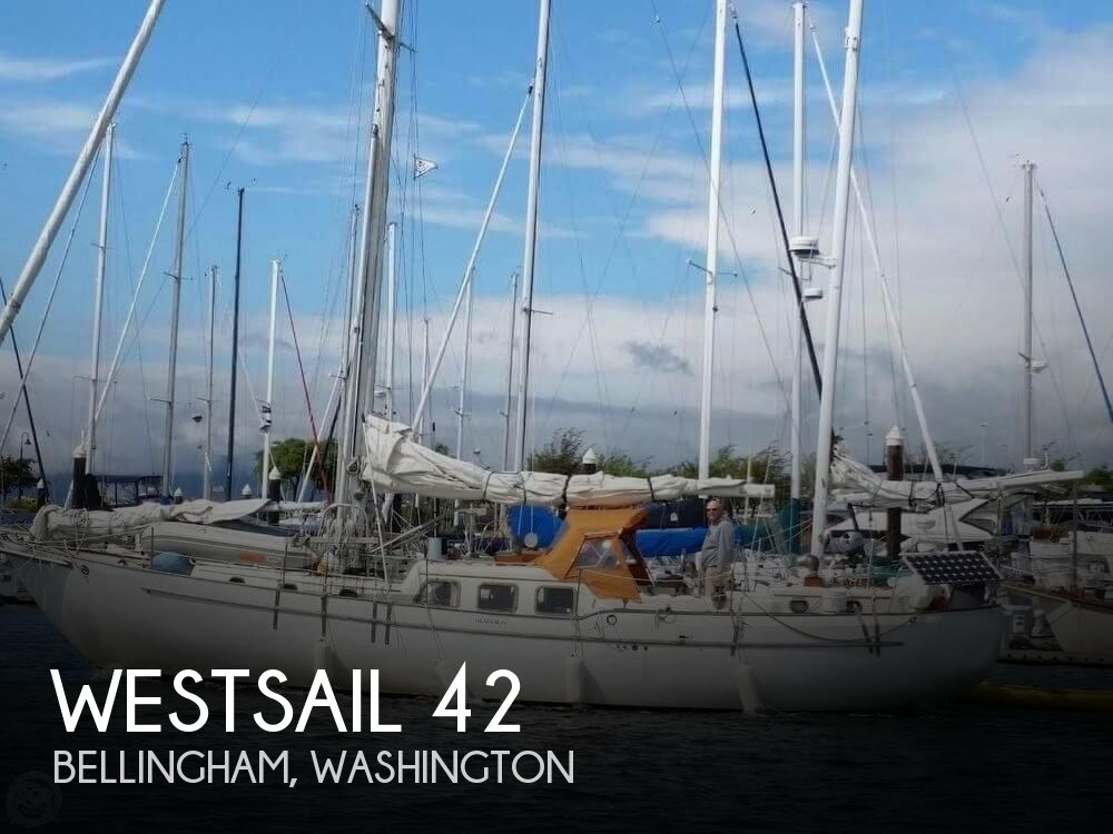 1974 Westsail boat for sale, model of the boat is 42 & Image # 1 of 40
