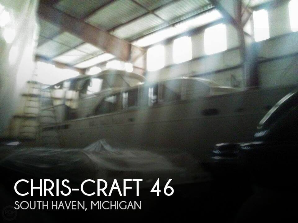 Used Chris-Craft Boats For Sale in Michigan by owner | 1964 Chris-Craft 46