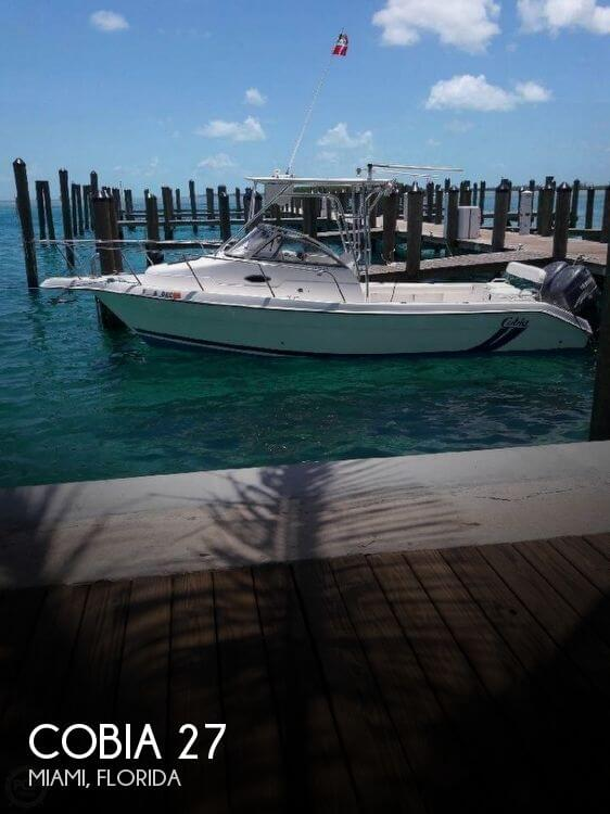 Used Cobia Boats For Sale by owner | 2001 Cobia 27