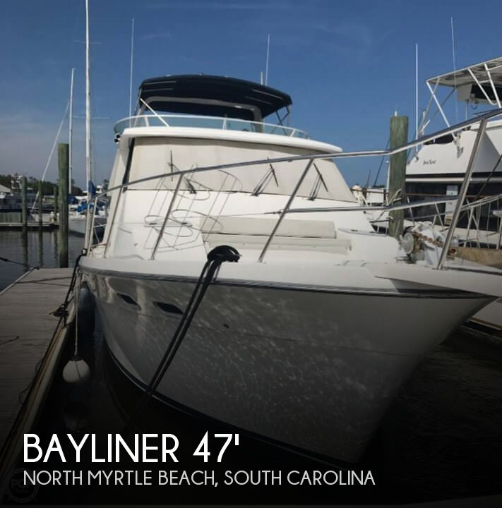 Used Boats For Sale in Wilmington, North Carolina by owner | 1997 Bayliner 47