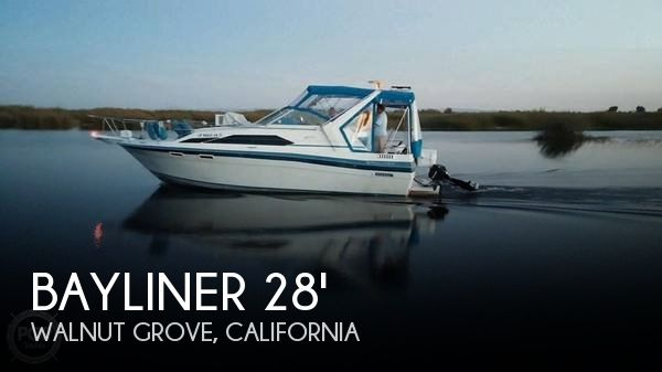 Used Bayliner Boats For Sale in Sacramento, California by owner | 1988 Bayliner 28