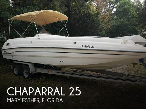 Used Chaparral Deck Boats For Sale in Florida by owner | 1999 Chaparral 25