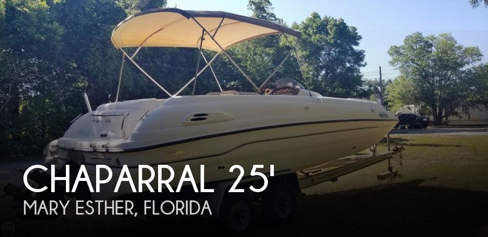 1999 Chaparral boat for sale, model of the boat is 252 Sunesta & Image # 1 of 40