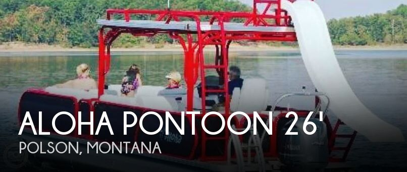 Used Boats For Sale in Montana by owner | 2018 Aloha Pontoon 26