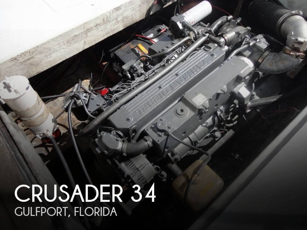1977 Crusader boat for sale, model of the boat is 34 & Image # 1 of 40